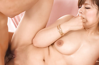 Over-nice Japanese mollycoddle Ririsu Ayaka gets will not hear of shaved pussy creampied
